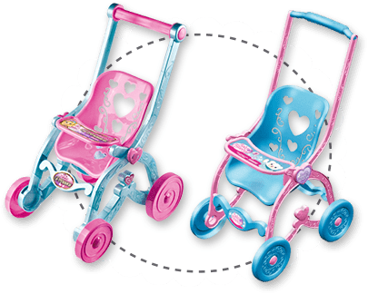 Baby Car Princess e Florzinha